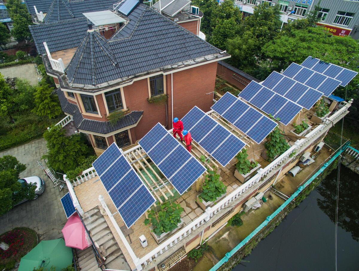 长兴18户居民光伏发电卖电收入超5万,你心动
