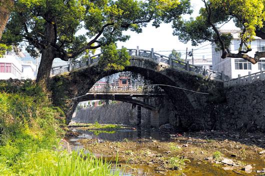 河头百步大拱桥-古桥