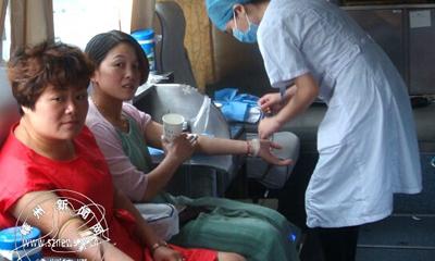 仙岩镇组织开展无偿献血活动