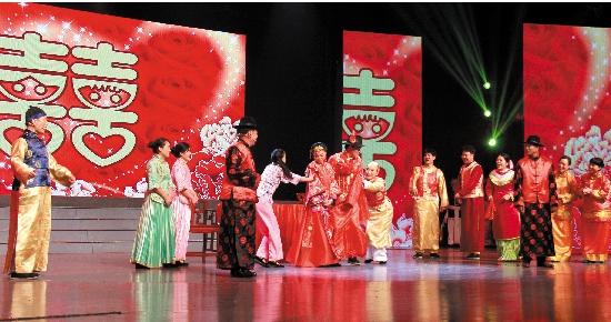 温岭演出资讯_新河 综合新闻       6月11日晚,由新河人口文化艺术团表演的温岭\