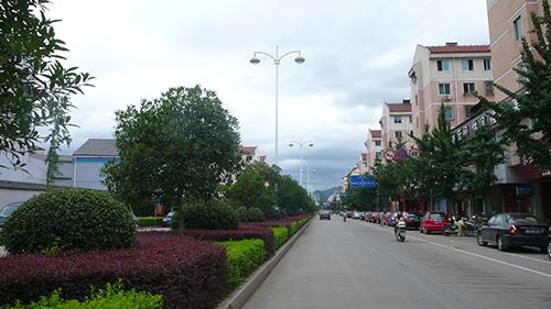 整洁的城市道路
