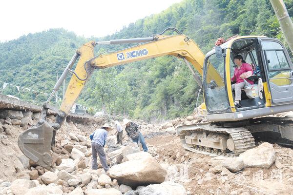 推进水毁工程建设