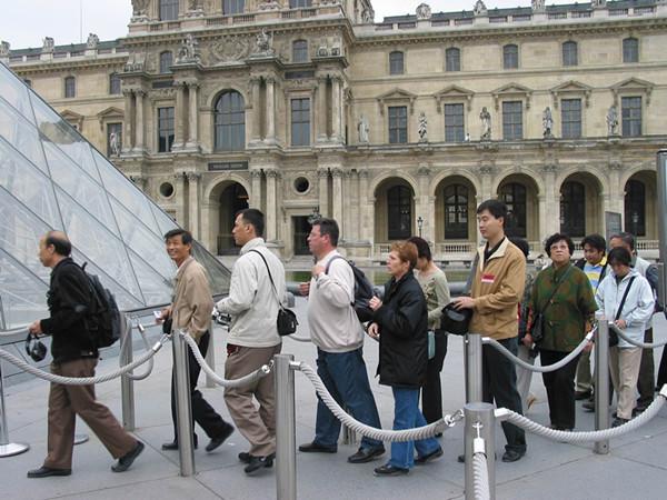法国:希望在未来几年每年能吸引500万中国游客图片