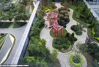 上海首个屋顶绿化示范点向市民免费开放