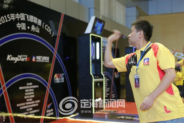 2015年舟山飞镖飞镖(定海站)中国开赛-联赛联桌上冰球airhockey图片