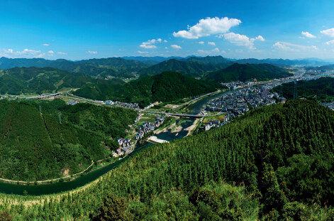 开化县被确定为国家公园体制试点区域.-浙江开化 在国家公园里掘金