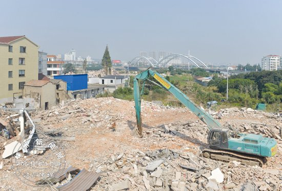 城中村改造马桥区块拆除进展顺利 已拆除3万多平方
