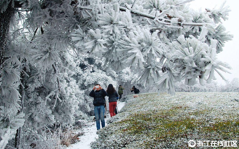 西白山的冬天(组照)