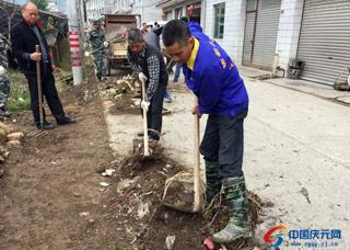 松源街道开展环境卫生综合整治