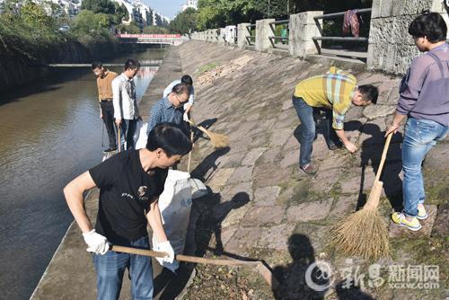 县工商联(总商会)积极参与五水共治