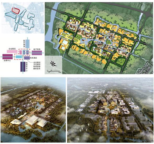 乌镇互联网大会会议会展片区规划设计图图片