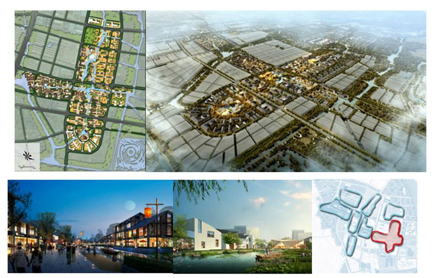 乌镇城市综合服务片区规划设计图图片