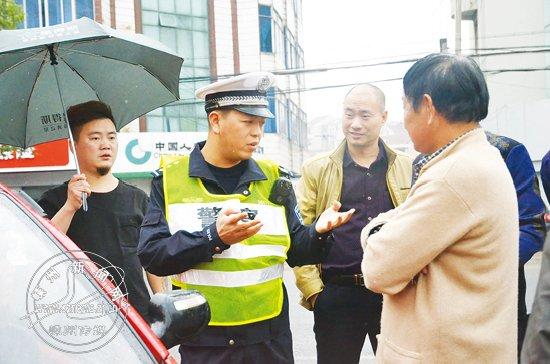 张峰:与司机交朋友 研究人性化执法方式