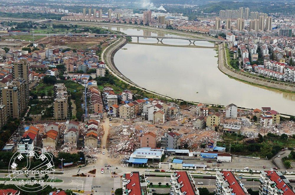 2015年3月,城南新区桥南区域城中村改造启动