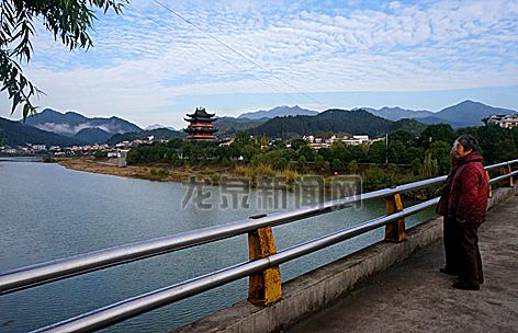龙泉冬日风景