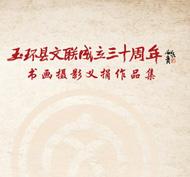 玉环县文联成立三十周年书画摄影义捐作品集