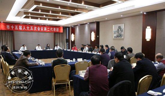 马志龙参加人大第二代表团审议