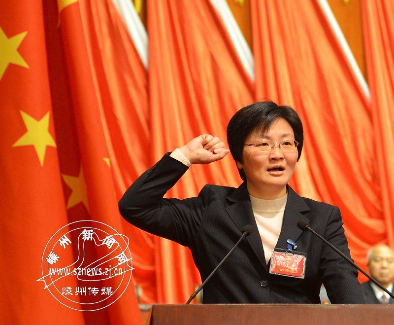 陈玲芳当选市人民政府市长 并向宪法宣誓
