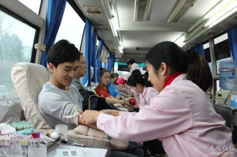 澄江:无偿献血献爱心