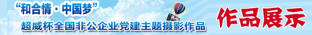 """超威杯""""和合情•中国梦""""全国非公企业党建主题摄影优秀作品获奖名单"""