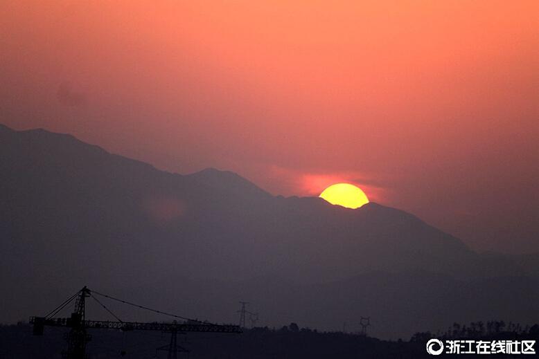 【行行摄摄】落日