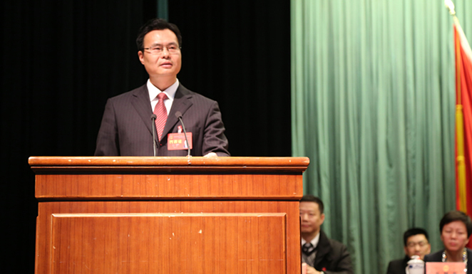 祁海龙当选为嘉善县人民政府县长