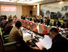 县十五届人大五次会议主席团召开第一次会议