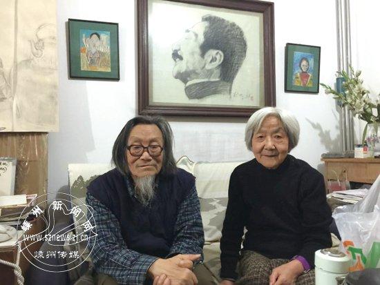 [2016-03-09]画家裘沙、王伟君:活在鲁迅的世界里