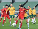 女足奥预赛:中国战平澳大利亚 小组第二晋级奥运
