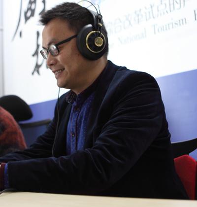 褚红斌:民俗研究者讲河山民俗故事