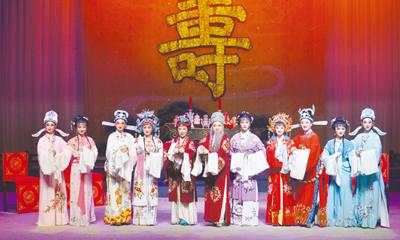 用创新传承越剧百年传奇 演员乐队舞美由艺校学生为主担纲