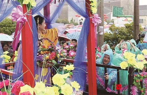 水北村办起蚕文化节