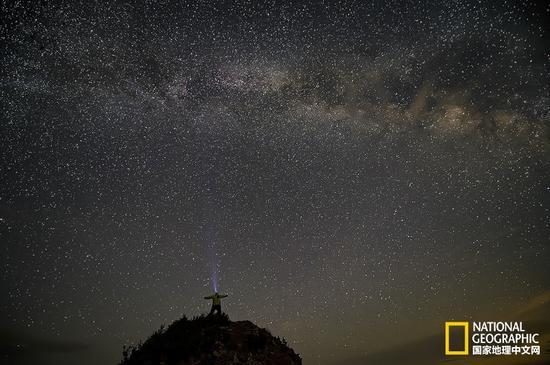 星空-好久不见 满天繁星才是最理想的夜空