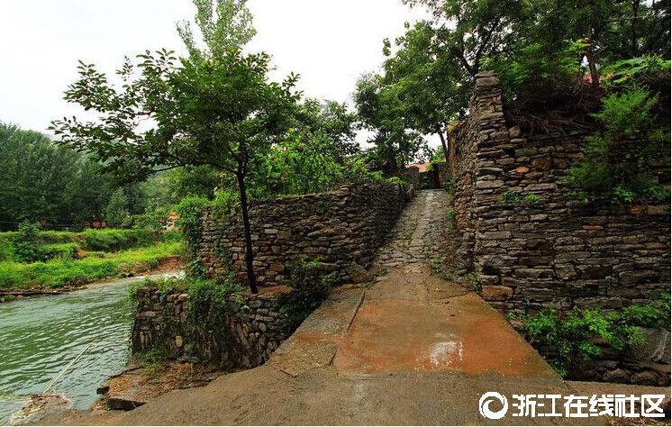 【行行摄摄】小桥溪水绿植人家 自然生存环境美