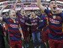 西甲:巴塞罗那夺冠