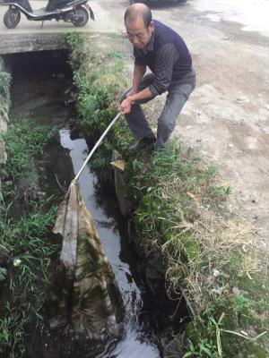 钱培华:一个农村环保员的心愿