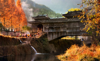 [CCTV-4]《远方的家》瓯江源头看桥乡