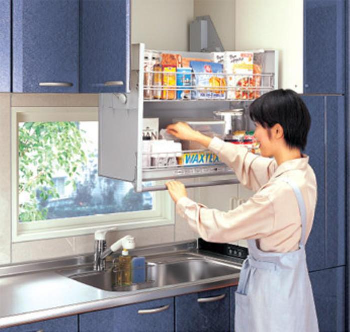 厨房装修收纳法 墙面空间大作为