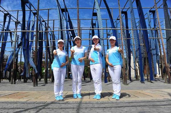 G20杭州峰会志愿者为乌镇点赞