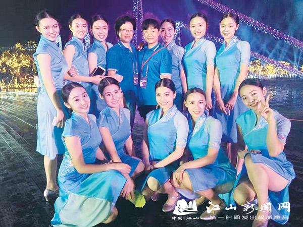 江山女孩:G20文艺晚会上翩翩起舞