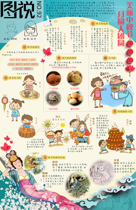 【第92期】美丽中秋节 月圆人团圆