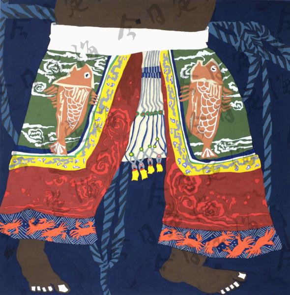 舟山渔民画斑斓色彩汇成海洋风情 渔民画 定海新闻网
