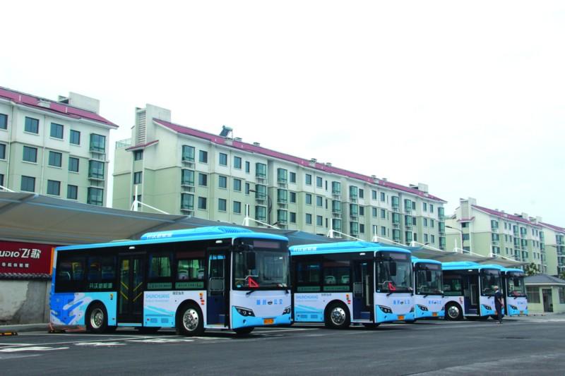 新能源智慧公交来袭