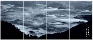 霓裳薄雾胜天宫