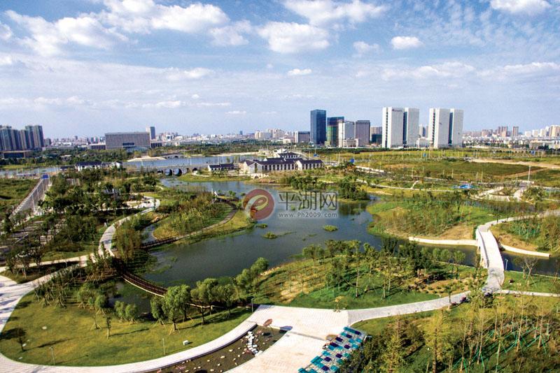 南市新區成平湖新地標圖片