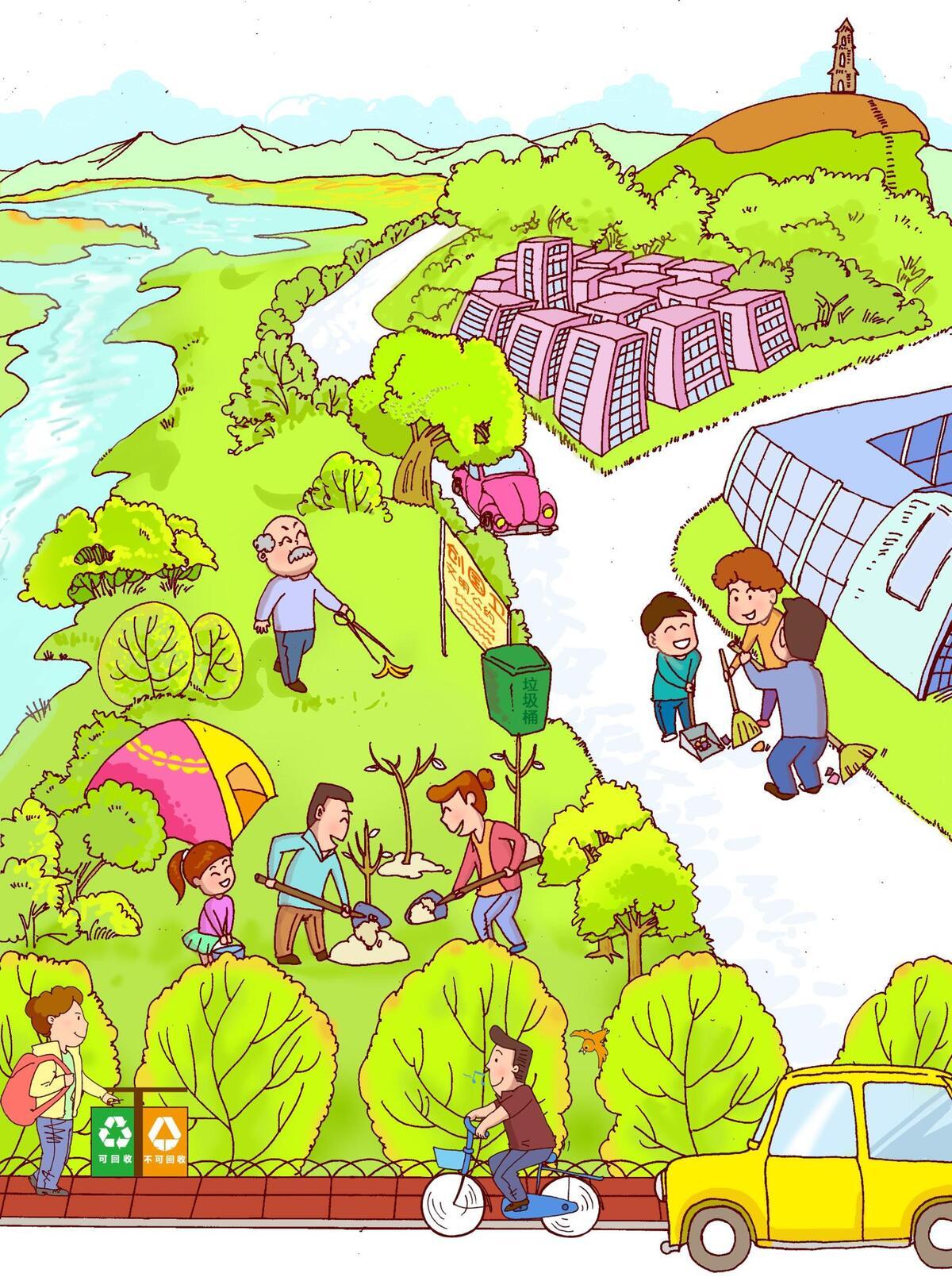 天台新闻网 新闻频道 天台新闻  创建国家卫生县城既是庞大工程,又是图片