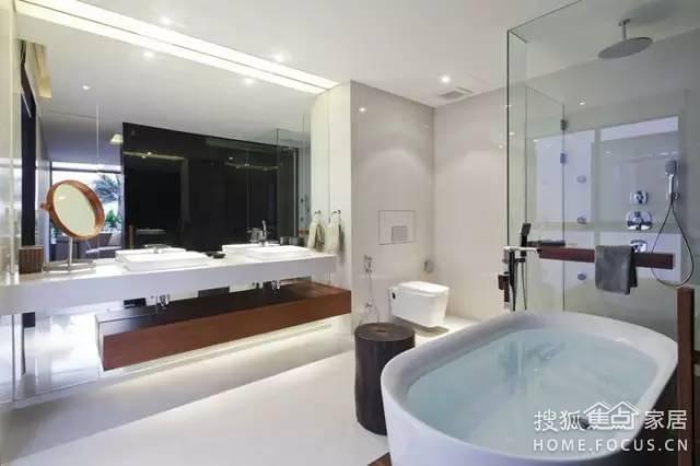 卫生间设计:你家的卫生间就只能用来上厕所吧