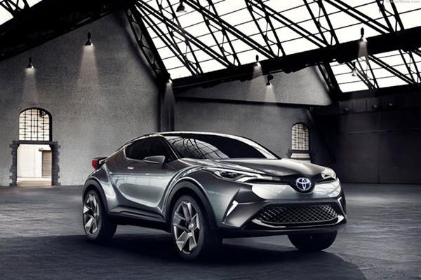 丰田C-HR混动SUV土耳其投产 或年底上市