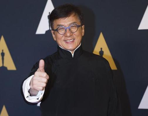 成龙荣获奥斯卡终身成就奖