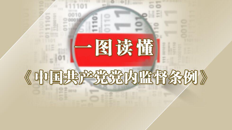 一图读懂《中国共产党党内监督条例》